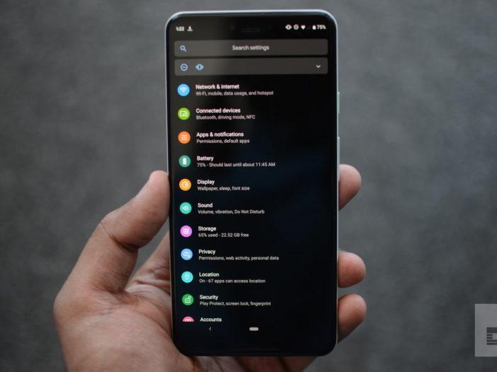 Come ottenere la modalità oscura per Android